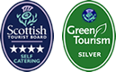 STB 3 Star Self Catering Award, STB 4 Star Self Catering Award, Green Tourism Silver Award